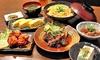京のおばんざい6品と選べる1ドリンク