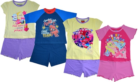 Kids' CharacterThemed Short Pyjamas