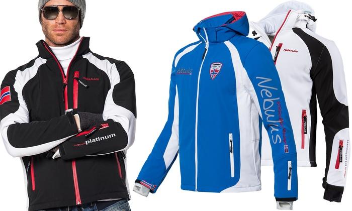 Groupon Goods Global GmbH: Nebulus Softshell Rockshell Skijacke  oder Sweden-Skijacke von Nebulus in der Farbe nach Wahl (bis zu 80% sparen*)