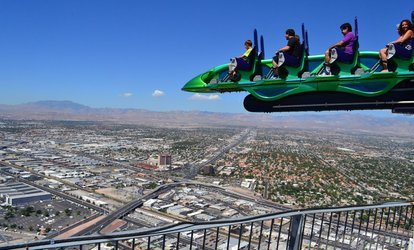 Image Placeholder For Up To 43 Off Thrill Rides At Stratosphere Hotel Tower