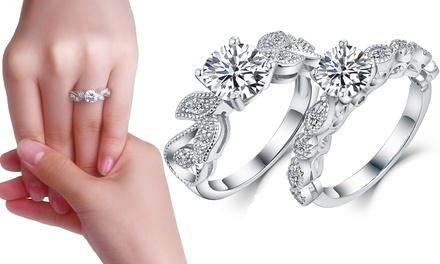 Sreema London Silver Ring