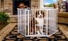 Carlson Convertible Super Yard with Small Pet Door