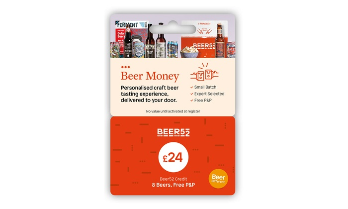 Beer Money Gift Card | Groupon Goods
