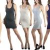 Women's Bodycon Racerback Mini Dress