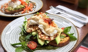 Caffe Dante: Breakfast with Campos Coffee or Tea for One ($15), Two ($29) or Four People ($55) at Caffe Dante, CBD (Up to $100 Value)