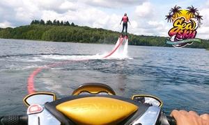 Seasky: Sessie Flyboarden op de Meren van de Eau d'Heure voor € 79 met Seasky