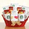 Starbucks Valentine Surprises Gift Basket by California Delicious