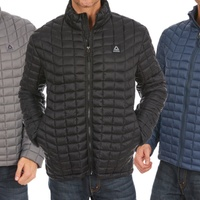 Groupon.com deals on Reebok Mens Midweight Quilted Puffer Jacket