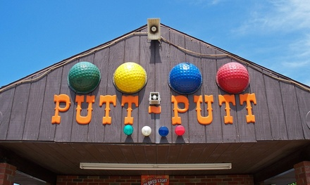 All You Can Play Authentic Putt- Putt for Two or Four at Putt-Putt Fun Center (Up to 38% Off)