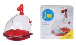 JW Pet Insight On-the-Cage Bird Bath