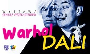 """wystawę """"Dali,Warhol – Geniusz Wszechstronny"""": Od 24,90 zł: bilet na wystawę """"Dali, Warhol – Geniusz Wszechstronny"""" w Muzeum Teatru im. Henryka Tomaszewskiego"""