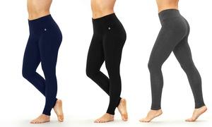 Bally Fitness Women's Tummy-Control Leggings. Plus Sizes Available.