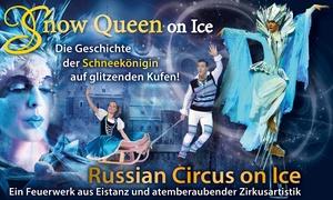 """Agenda Production: 2 Karten für die Neuinszenierung """"Snow Queen on Ice"""" ab Dezember u.a. in Düsseldorf, Krefeld (bis zu 40% sparen)"""