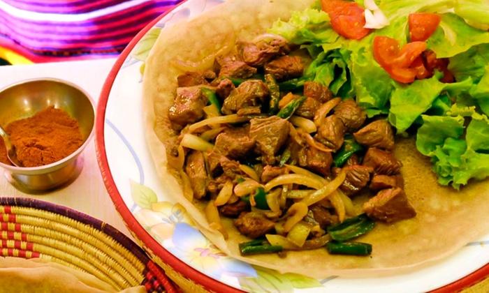 Restaurant Ethiopia Jusquà Paris ÎledeFrance Groupon - Cuisine ethiopienne