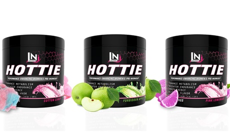 Container of Hottie Women's Pre-Workout (30 Servings)