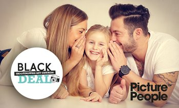 Black Friday Fotoshooting + Bilder bei Picture People