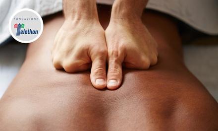 Fino a 5 massaggi da 50 minuti a scelta nei Centri Medici Benessere (sconto fino a 89%). Valido in 5 sedi