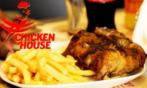 Chicken House: Menu con galletto alla brace fino a 2,4 kg e birra per 2 o 4 persone al Chicken House (sconto fino a 50%)