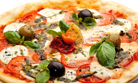 Pizza Meal or $11 for $20 Worth of Takeout or Delivery from JR'S Stonebaked Pizza