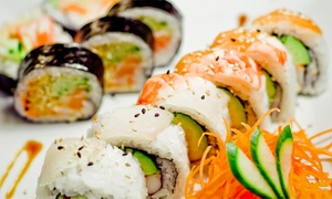 Komiko: All-You-Can-Eat Sushi for Two with Optional Carafe of Sake at Komiko Restaurant (Up to 42% Off)