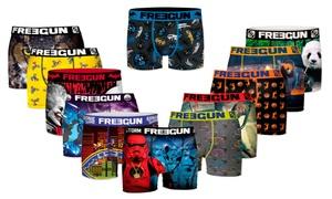 Pack 6 à 12 Boxers Freegun Mix