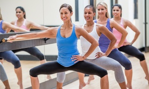 Fit 4 Life - Chapel Hill: 5 or 10 Barre Fusion, Zumba, or Spin Classes at Fit 4 Life - Chapel Hill (Up to 53% Off)