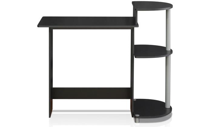 Furinno Compact Computer Desk Groupon Goods