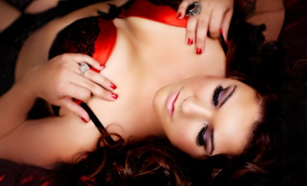 One 1-hour Boudoir photo shoot package