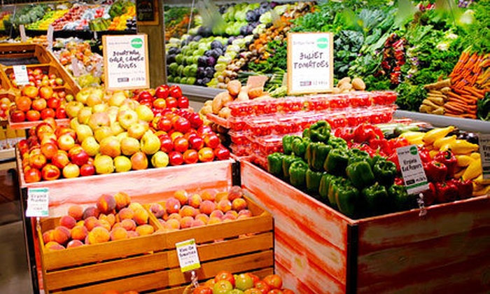 Dawson's Market - Central Rockville: $10 for $20 Worth of Local and Organic Groceries Including Meat, Seafood, Beer, Wine, and Cheese at Dawson's Market