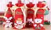 Christmas Wine Bottle Holder