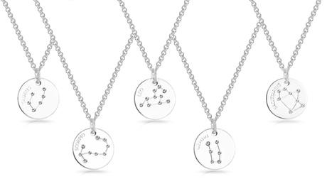Collar del zodiaco Philip Jones con cristales Swarovski®
