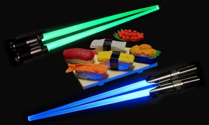 Star Wars Lightsaber Chopsticks (1- or 2-Pack)