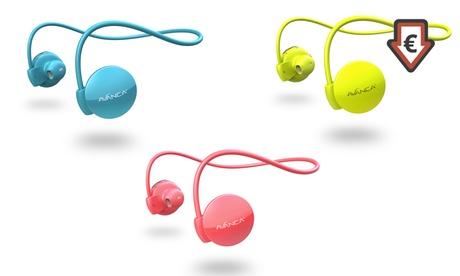 1 o 2 auriculares deportivos Avanca S1 con Bluetooth y opción a brazalete deportivo