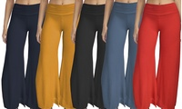 Women's Palazzo Pants. Plus Sizes Available.