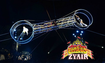 Circus Zyair: Two or Four Early Bird Tickets with Popcorn, 21–26 September in Preston