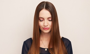 beauty on the edge: Haircut and Blow-Dry with All-Over Color, Retouch, or Partial Highlights at Beauty on the Edge (Up to 71% Off)