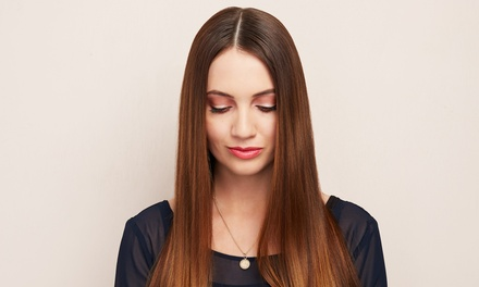 Wash, Cut and Blow-Dry with Optional Half Head Highlights at Ecclesia Hair (Up to 67% Off)