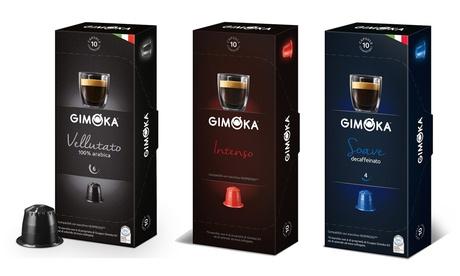 Fino a 100 capsule di caffè Gimoka compatibili Nespresso disponibili in vari gusti