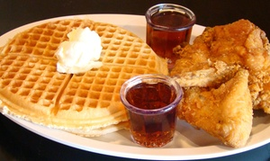 Up to 50% Off at Chicago's Home of Chicken and Waffles at Chicago's Home of Chicken and Waffles, plus 6.0% Cash Back from Ebates.