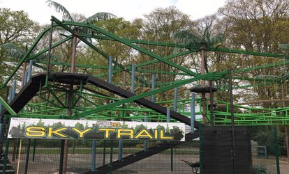 Sky Trail High-Rope Course Experience for Up to Six at Extreme Motion