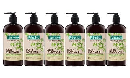 $19.95 for Six Palmolive Oil Infusions Body Washes with Jasmine and Avocado Oil 500ml Don't Pay $51.84