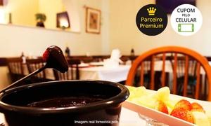 Rei do Bacalhau - Encantado: Rei do Bacalhau – Encantado: fondue completo para 2 pessoas