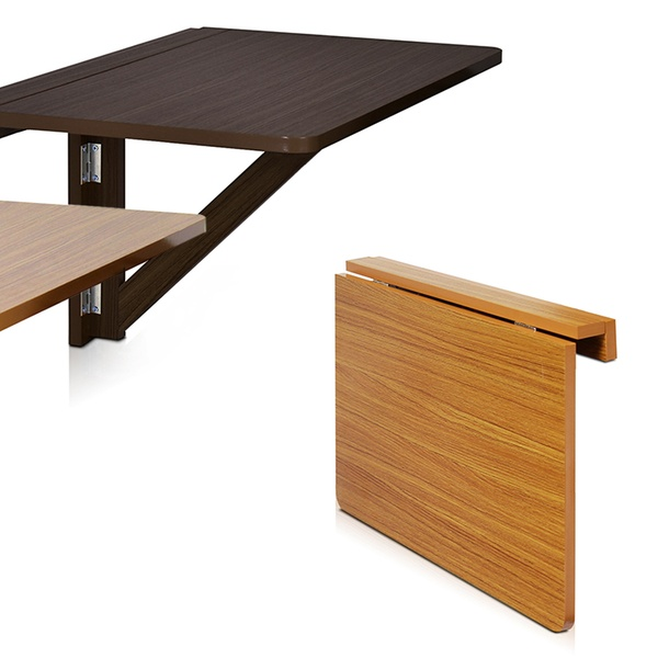 Wall Mounted Drop Leaf Folding Table