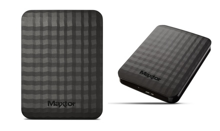 Seagate Maxtor M3 Portable External Hard Drive 500GB - 2TB from £42.98 With Free Delivery