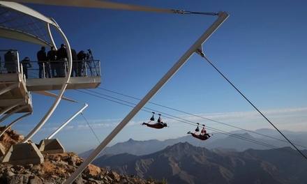 Ras Al Khaimah: 1 or 2 Nights for Two at Citymax Hotel with Breakfast and Jebel Jais Zip Line Tickets