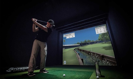 One-Hour Golf Simulator Play for Two or Two-Hour Golf Simulator Play for Four at Bishopbriggs Golf Range (Up to 54% Off)