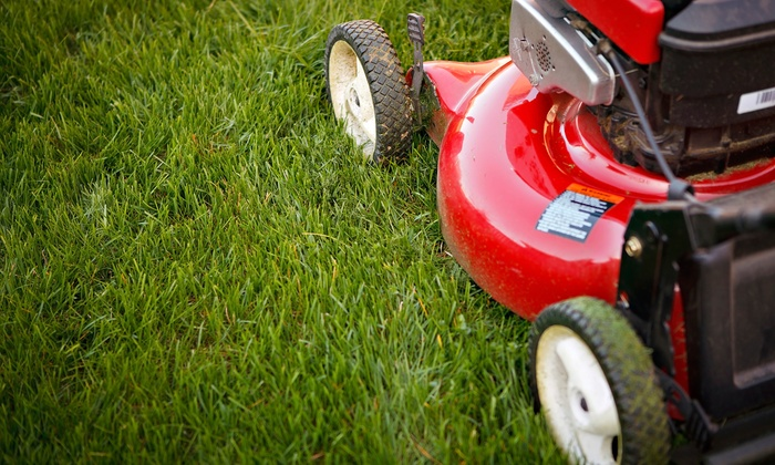 One Earth Lawn and Garden - Eugene: Two, Three, or Four Weeks of Lawn Mowing from One Earth Lawn and Garden (Up to 61% Off)