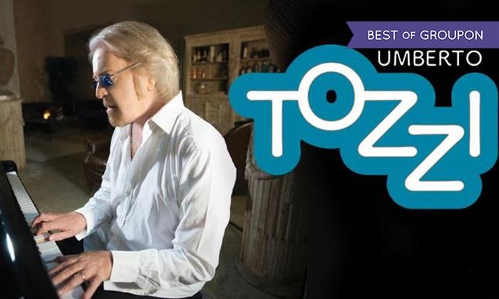 """Umberto Tozzi al Gran Teatro Geox di Padova - Gran Teatro Geox: Umberto Tozzi con il tour """"Ti amo"""" il 19 maggio al Gran Teatro Geox di Padova (sconto fino a 43%)"""