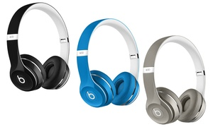 Beats by Dr. Dre Solo 2 Luxe Edition Wired On-Ear Headphones with Mic