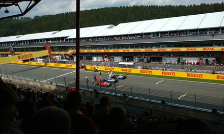 Grand Prix Formule 1: ervaar de training, kwalificatie en/of race in SpaFrancorchamps met Mundotours